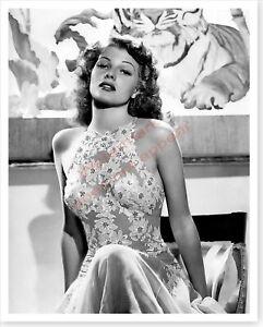 Movie Actress Rita Hayworth You Were Never Lovelier Silver Halide Photo