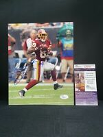 SANTANA MOSS WASHINGTON REDSKINS SIGNED 8X10 PHOTO JSA COA T38750