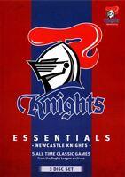 NRL - Essentials - Newcastle Knights (DVD, 2013, 3-Disc Set) - Region 4