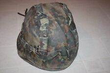 Flecktarn Helmet Cover Bundeswehr 58-80 7-1/4-7 1/2 paintball airsoft