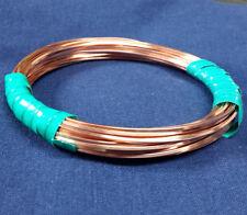 COPPER Wire SQUARE Coils 99.9% Pure 5 - 80 FT Gauges 10-24 DEAD SOFT Bare USA