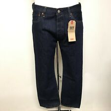 New Levis 501 Jeans W 33 L 30 Blue Casual Occasion Buttoned Menswear 262313