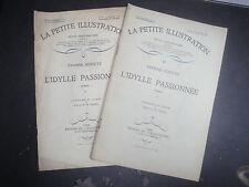 La Petite Illustration - L'Idylle Passionnée - 1928