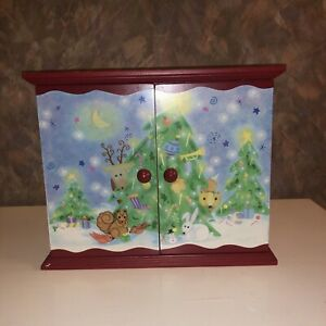 Festive Chistmas Holiday Wooden Family Advent Calendar