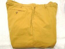 J McLaughlin Mitchell 100% Pima Cotton Pants NWT 42 x 36 $198 Golden Tan