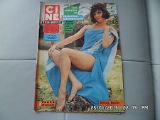 CINE REVUE N°46 14/11/1963 M.MERCIER C.CARDINALE M.CAROL D.PROVINE MARAVIDI  H18