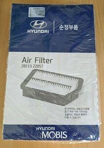 GENUINE HYUNDAI ACCENT/ELANTRA/EXCEL (1995-1999) AIR FILTER 28113 22051
