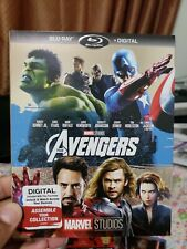Marvel The Avengers (Blu-Ray) w/ Rare Slipcover! No Digital Copy. Free Shipping