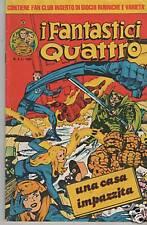 I FANTASTICI QUATTRO II 2a seconda serie corno n. 5