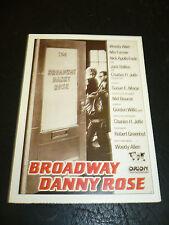 BROADWAY DANNY ROSE, film card [Woody Allen, Mia Farrow]