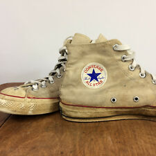 f1a1a94222a Vintage 50s 60s Blue Label Converse All Star Canvas Basketball Shoes  Distressed