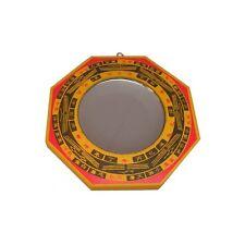 Miroir Feng-Shui – Miroir bois concave – 125 mm