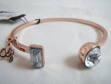 Guess rose gold tone~crystal cuff bracelet, NWT