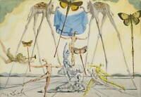 Salvador Dali Les Vendangeurs Poster Reproduction Paintings Giclee Canvas Print