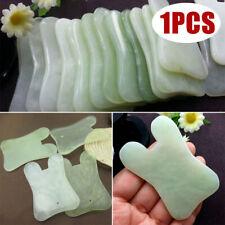 Gua Sha Facial Massage Chinese Medicine Natural Jade Board Scraping Tool