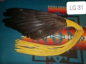 Native American Style Wing Fan, Pow Wow, Regalia, LG 31