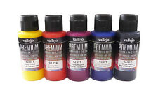 AIRBRUSH PAINTS - VALLEJO PREMIUM RC COLORS - CANDY SET (5 x 60ML BOTTLES)