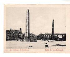 Les Obelisques De l'ypodrome - Constantinople Photo Postcard c1905