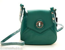 MIMCO LEATHER MOLTEN MINI HIP BAG IN TEAL BNWT RRP$229
