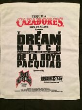 Dream Match Rally Golf Cry Towel De La Hoya Pacquiao Fight Boxing MOM Vegas
