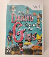 Nintendo Wii 2010 The Daring Game for Girls -Tested- Includes Manual