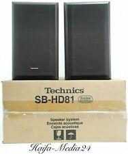 Original Technics sb-hd81 altavoces boxeo speaker OVP 12 meses gewährl.