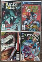 Suicide Squad (2011) #6-7 + 14-15 1st Prints Death of the Family Dc Glass