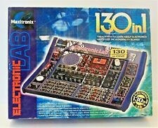 Maxitronix 130 in 1 Electronic Lab Digital And Analogue Learning Projects Kit