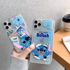 Cartoon Stitch Quicksand TPU Phone Case For iPhone 11 Pro Max X XR 6 7 8 SE 2020