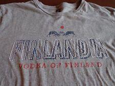 Vintage Finlandia Vodka Alcohol Drinks T Shirt Size Medium    E9