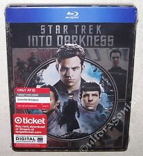 STAR TREK Into Darkness Blu-ray Limited Edition Metalpack Steelbook BRAND NEW