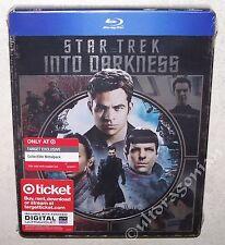 STAR TREK Into Darkness Blu-ray Limited Edition Metalpack Steelbook BRAND NEW