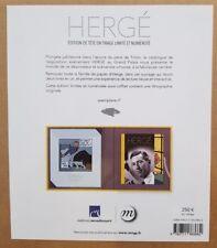 Tirage de tête numéroté Hergé exposition au grand palais