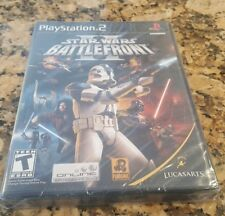 Star Wars Battlefront II 2 Playstation 2 PS2 Video Game BRAND NEW FACTORY SEALED