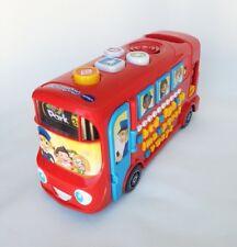 Vtech Juego Rojo Autobús Juguete Educativo sonidos musicales conversaciones de plástico 28 cm/11''