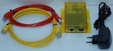 ISDN Modem Ethernet 10/100 LAN Adapter ComPoint-LIB AK-Nord + Kabel + Netzteil