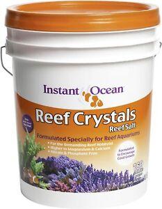 Instant Ocean Reef Crystals Reef Salt For 160 Gallons, Enriched Formulation