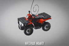Custom Polaris Sportsman 500 ATV 4x4 Yamaha Honda Christmas Ornament 1/64