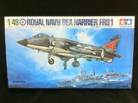 61026 Tamiya 1/48 Model Plane Kit Hawker Sea Harrier FRS.1 Royal Navy