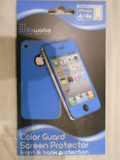 Life Works Color Guard FRONT & BACK Screen Protector for iPhone 4 & 4S LW-4P515