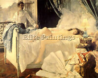 HENRI GERVEX ROLLA 1878 ARTIST PAINTING REPRODUCTION HANDMADE CANVAS REPRO WALL