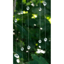 Crystal Garland Dangler - 10mm - 48 inches Wedding B73