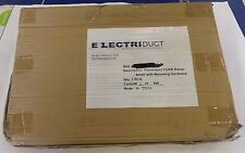 "1 NEW BLACK  ELECTRODUCT X000T5DHLB 5.2"" CURB RAMP NIB **MAKE OFFER**"