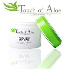 Touch Of Aloe Skin Care Moisturizing Cream 8 Oz Skin Care Jar Skin Repair Cream
