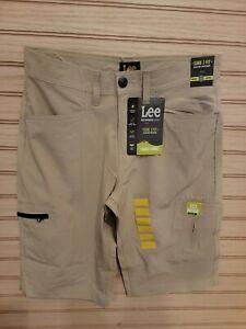 BOYS KHAKI CARGO SHORTS - LEE - Size 14 - NEW WITH TAGS