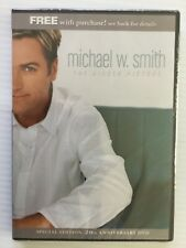 Michael W. Smith The Bigger Picture 2003  (DVD) 20th Anniversary new SEALED