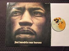 1972 Jimi Hendrix – War Heroes LP VG/VG French Barclay – 80.467
