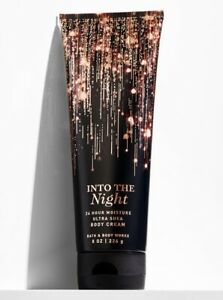 Bath & Body Works Into the Night 24hr Moisture Ultra Shea Body Cream~8 oz