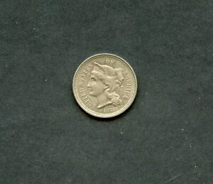 UNITED STATES 1873 THREE CENT NICKEL  AS SHOWN  YOU DO THE GRADING