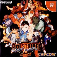 USED Capcom Street Fighter 3rd Strike  SEGA DREAMCAST  JAPAN JP JAPANESE